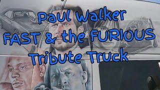 Nonton PAUL WALKER | Fast and Furious Tribute Truck |Scania Topline R series Film Subtitle Indonesia Streaming Movie Download