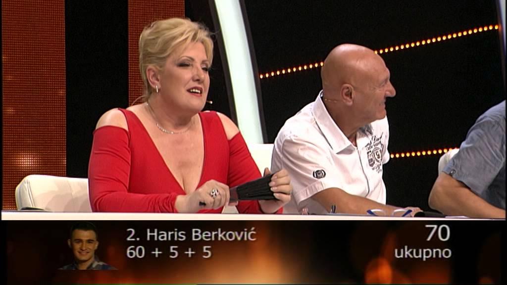 Haris Berković – Loša stara vremena – 43 emisija (20. 06. – polufinale)