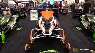 8. 2015 Arctic Cat XF Cross Country Sled - Walkaround - 2014 Toronto ATV Show