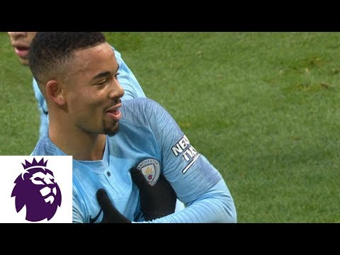 Video: Gabriel Jesus strikes to put Man City ahead against Everton | Premier League | NBC Sports