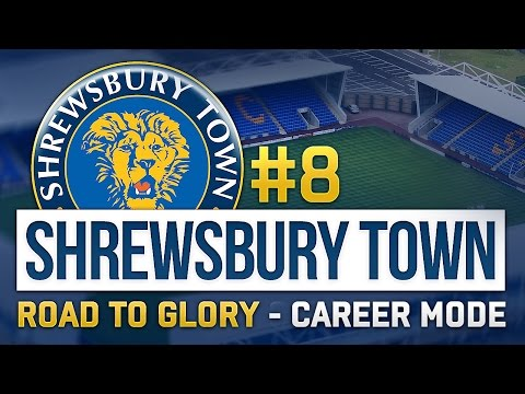 FIFA 15 Shrewsbury RTG Career Mode #8 - High Potential Youth Player (Road To Glory)