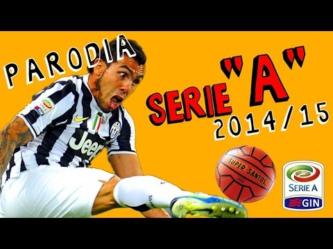 serie a tim - parodia - campionato 2014-15