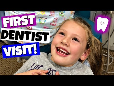 HER FIRST VISIT TO THE DENTIST! FAMILY VLOG