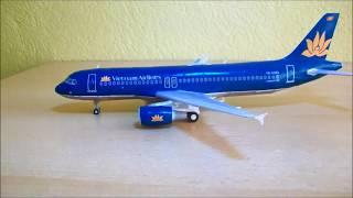 Video Vietnam Airlines - Airbus A320 Papercraft 1:120 MP3, 3GP, MP4, WEBM, AVI, FLV Juni 2018