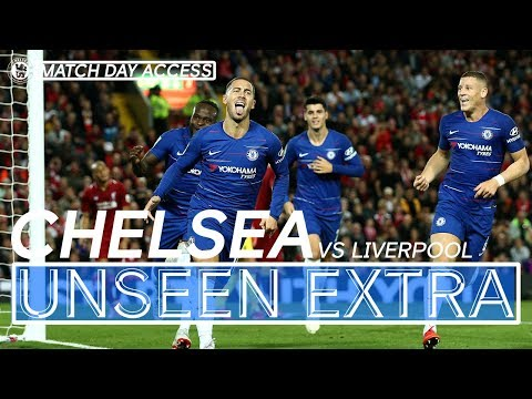 Tunnel Access | Hazard's Stunning Strike Turns Anfield Blue