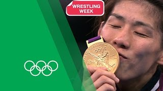 3 Time Olympic Wrestling Champion Saori Yoshida On Her London 2012 Gold | Olympic Rewind