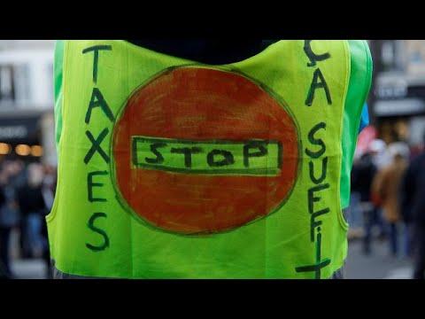 Νέα διαδήλωση των «κίτρινων γιλέκων» στη σκιά του Στρασβούργου…