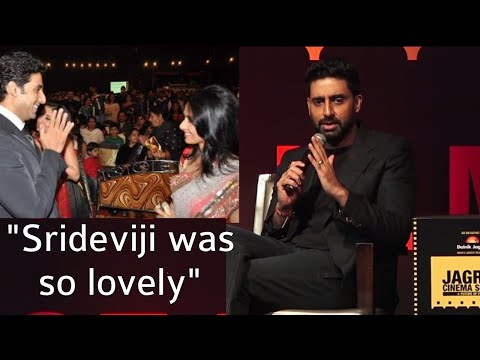 Abhishek Bachchan EMOTIONAL, Remembers Late Sridev
