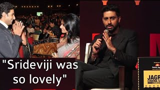Abhishek Bachchan EMOTIONAL, Remembers Late Sridevi, Shares His Fanboy Moment