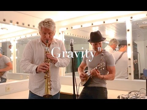 Gravity - John Mayer - Ukulele & Sax cover - Feat. Hayden Smith