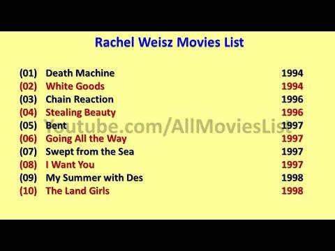 Rachel Weisz Movies List