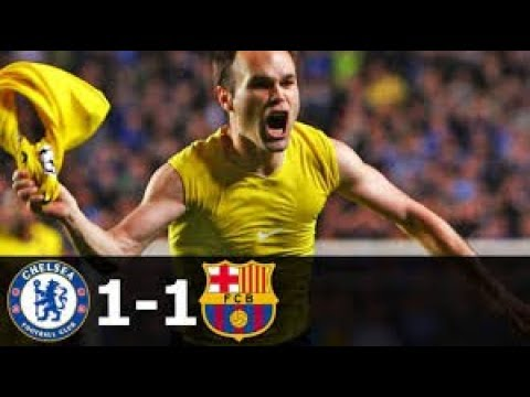 Chelsea vs Barcelona 1-1 All Goals 2009 hd