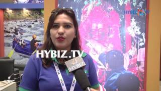 Sharmila Kv kafle,Managing Director at Apoorva Tours & Travel-Travel & Tourism Fair at Hitex,Hyderabad 2017  Hybiz ▻ Watch...