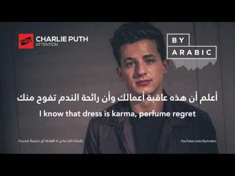 Charlie Puth   Attention  مترجمة (видео)