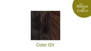 La Maison del Cabello https://www.lamaisondelcabello.es Una muestra real del color GV de extensiones.