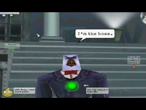 Toontown Easy 5 story cog building