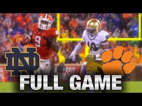 Instant Classic: Notre Dame vs. Clemson Full Game | 2015 ACC Football (видео)