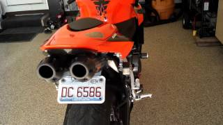 5. 2008 CBR600rr hyperflo exhaust