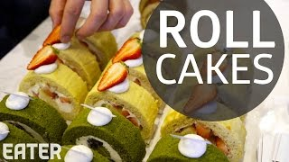 Making Roll Cakes at Toronto's Neo Coffee Bar by Eater