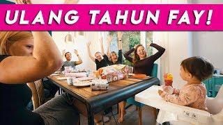 Video ULANG TAHUN PERTAMA FAY! | REZZVLOG MP3, 3GP, MP4, WEBM, AVI, FLV Januari 2019