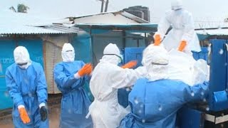 Inside Liberian Ebola Ward With Burial Team