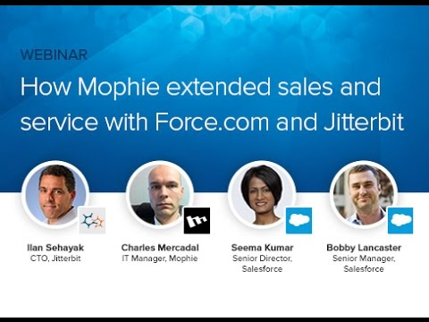 How mophie Extended Sales and Service with Force.com and Jitterbit