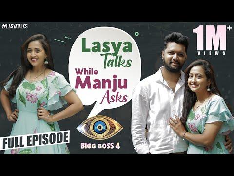 Lasya Talks while Manju asks | Lasya full interview | Manju as anchor | BiggBossTelugu4