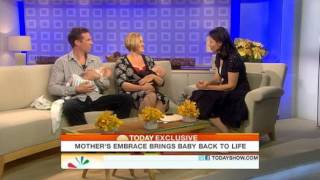 From video.today.msnbc.msn.com Video on TODAY.com: After being told her newborn son was dead, mother Kate Ogg was able ...