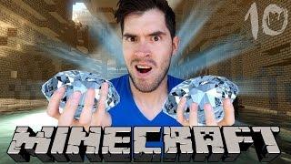 MI PRIMER DIAMANTE   Minecraft   Parte 10 - JuegaGerman