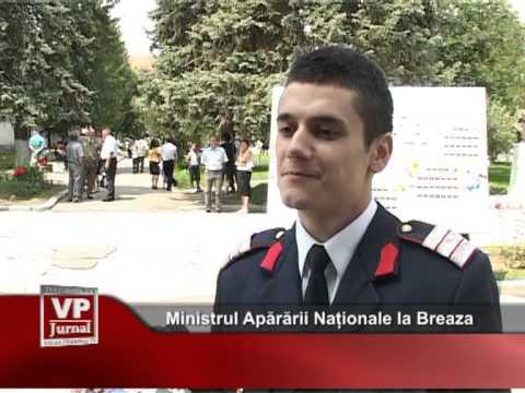Ministrul Apărării Naționale la Breaza