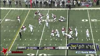 Kevin White vs Alabama (2014)