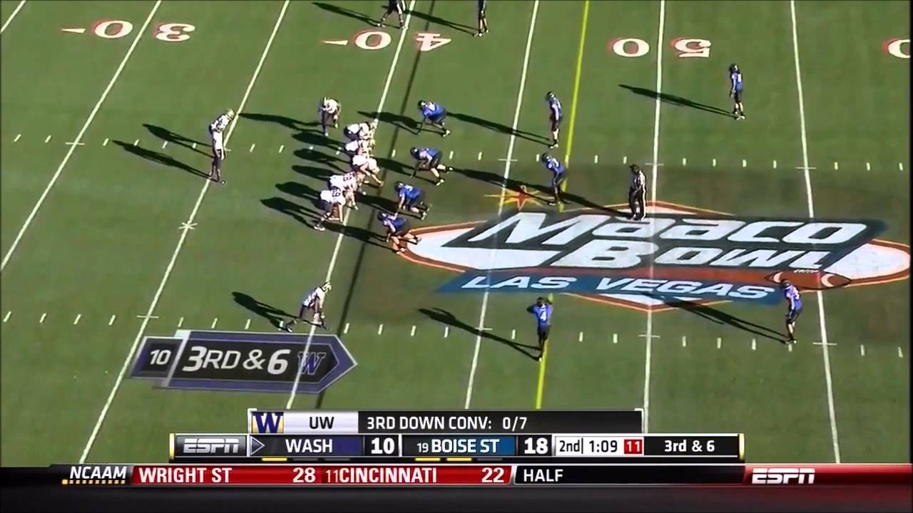 Bishop Sankey vs Boise State (2012 Bowl)