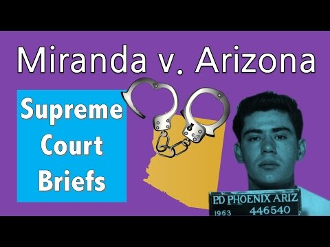 Where Do Your Miranda Rights Come From? | Miranda V. Arizona