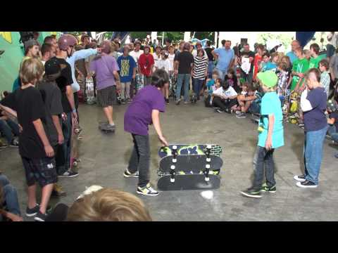 Skateboarding Jutrzenka 21.06.2011 Disney XD (Zeke i Luther Town Tour)