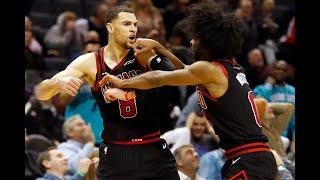 Final minute of Bulls vs. Hornets | CRAZY FINISH