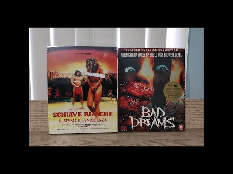Amazonia & Bad Dreams Blu-Ray Unboxing - 88 Films
