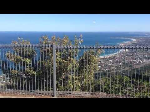 porphyriacus - Sublime Point lookout — costal towns of Thirroul and Austinmer seen below — red-bellied black snake under foot. The red-bellied black snake (Pseudechis porph...