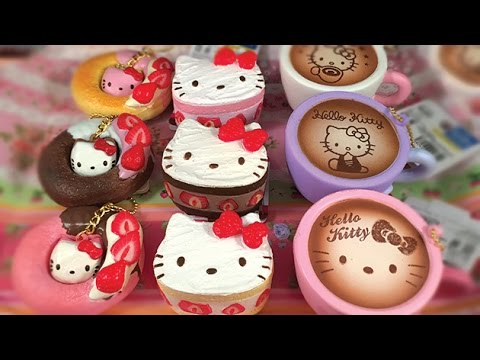 Sanrio Hello Kitty Lovely Sweets Cafe Squishies [Kawaii-Land]