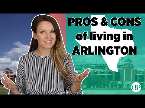 Pros and Cons of Arlington Texas and what I find INTERESTING too!