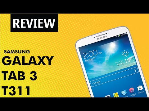 Samsung Galaxy Tab 3 T311 8.0 | Unboxing e Review