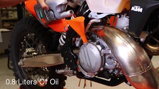 5. KTM Two-Stroke Oil Change - Cycle News