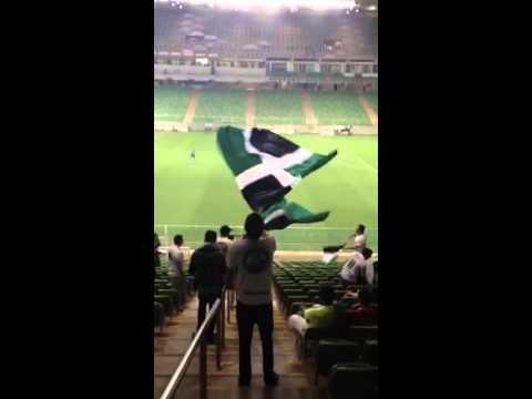 Entrada da banda - América x URT - Barra Una - América Mineiro