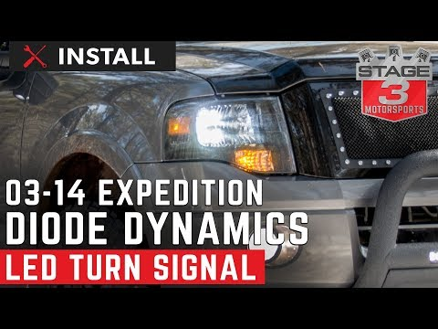 2003-2014 Expedition Diode Dynamics LED Front Turn Signal Install