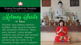 Video Mukjizat penyembuhan dari Meditasi - Sharing oleh MELANNY MP3, 3GP, MP4, WEBM, AVI, FLV November 2017