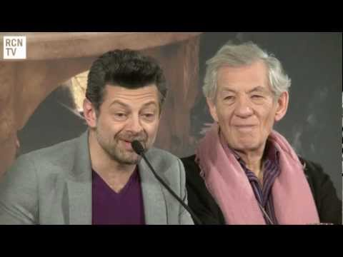 Adny Serkis - Andy Serkis Interview - The Voice & Inspiraton for Gollum - The Hobbit An Unexpected Journey.