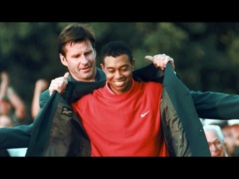 Tiger Woods' historic 1997 Masters win