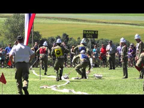 Siegerlauf der Gruppe Schweinsegg-Zehetner in Silber beim Landesbewerb 2015