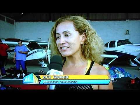 ALTV - Sabiá e o paraquedismo em Maceió 19/01/2013