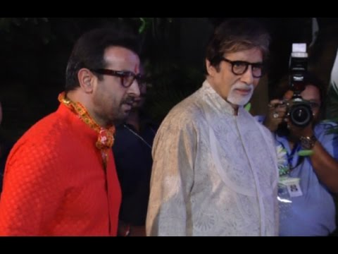 Bollywood Celebrities Turn Up At Ronit Roy's 50th