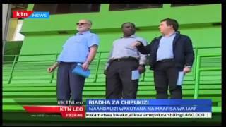 KTN Leo: Waandalizi Wa Riadha Chipukizi Wakutana Na IAAF, 18/10/2016